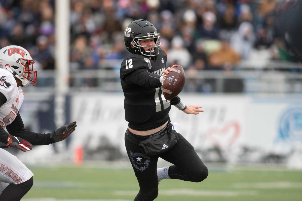 Carson Strong's outstanding tools and production may position him firmly in the race for QB1.