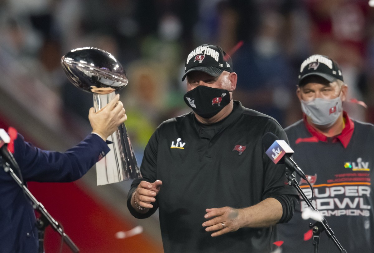 Bruce Arians made his thoughts about players getting vaccinated bluntly clear