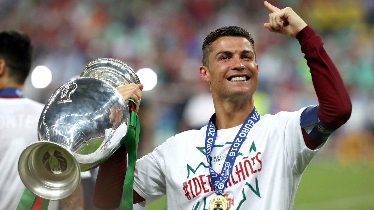 Portugal star and captain Cristiano Ronaldo