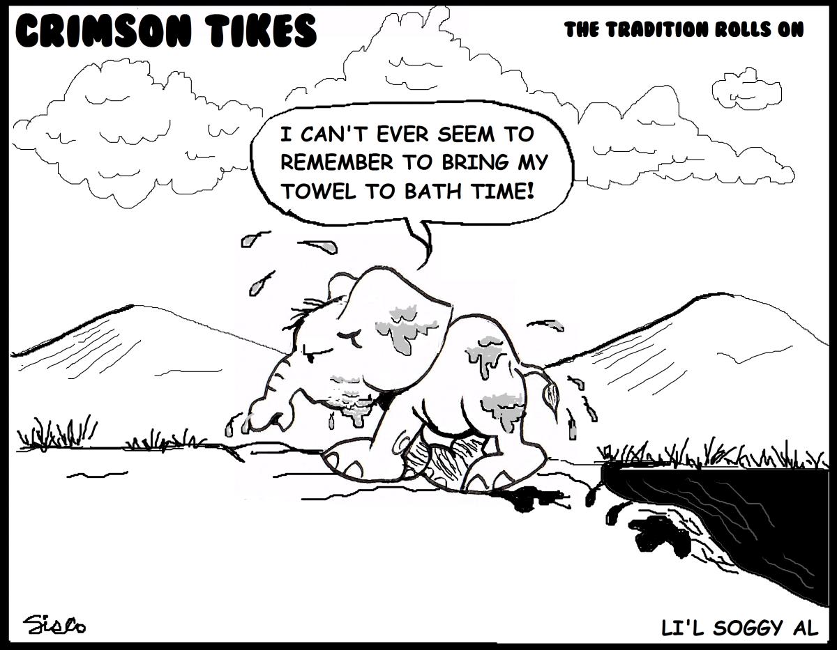 Crimson Tikes: Li'l Soggy Al