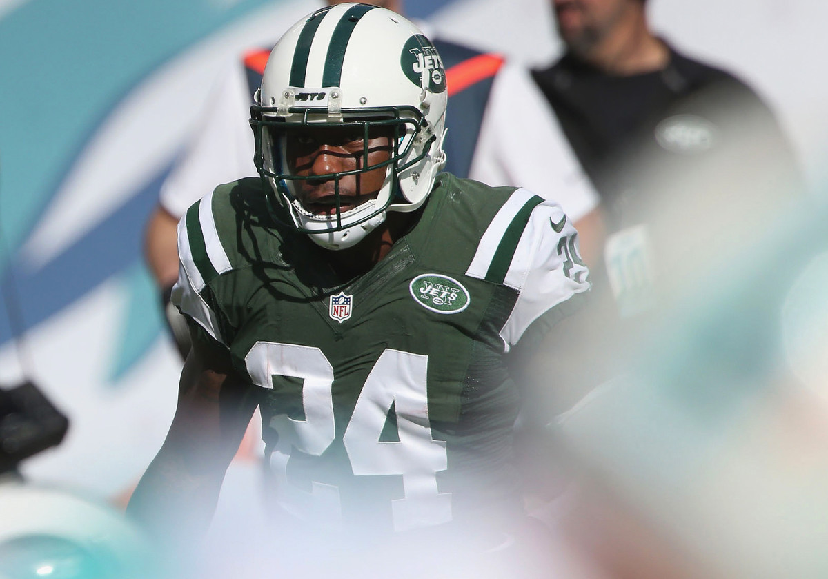 Phillips with the Jets in 2014...