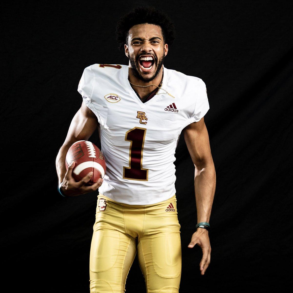 Boston College Football Unveils New adidas Uniforms - Sports ...