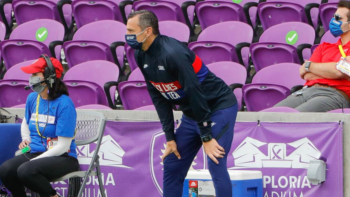 USWNT coach Vlatko Andonovski