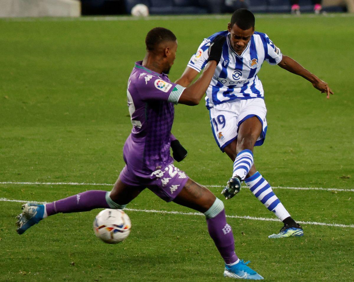 Isak scored against Sevilla, Villarreal and Valencia last season/