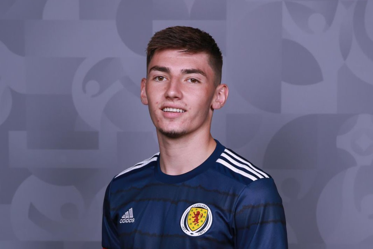 Billy Gilmour was impressive on his full international debut