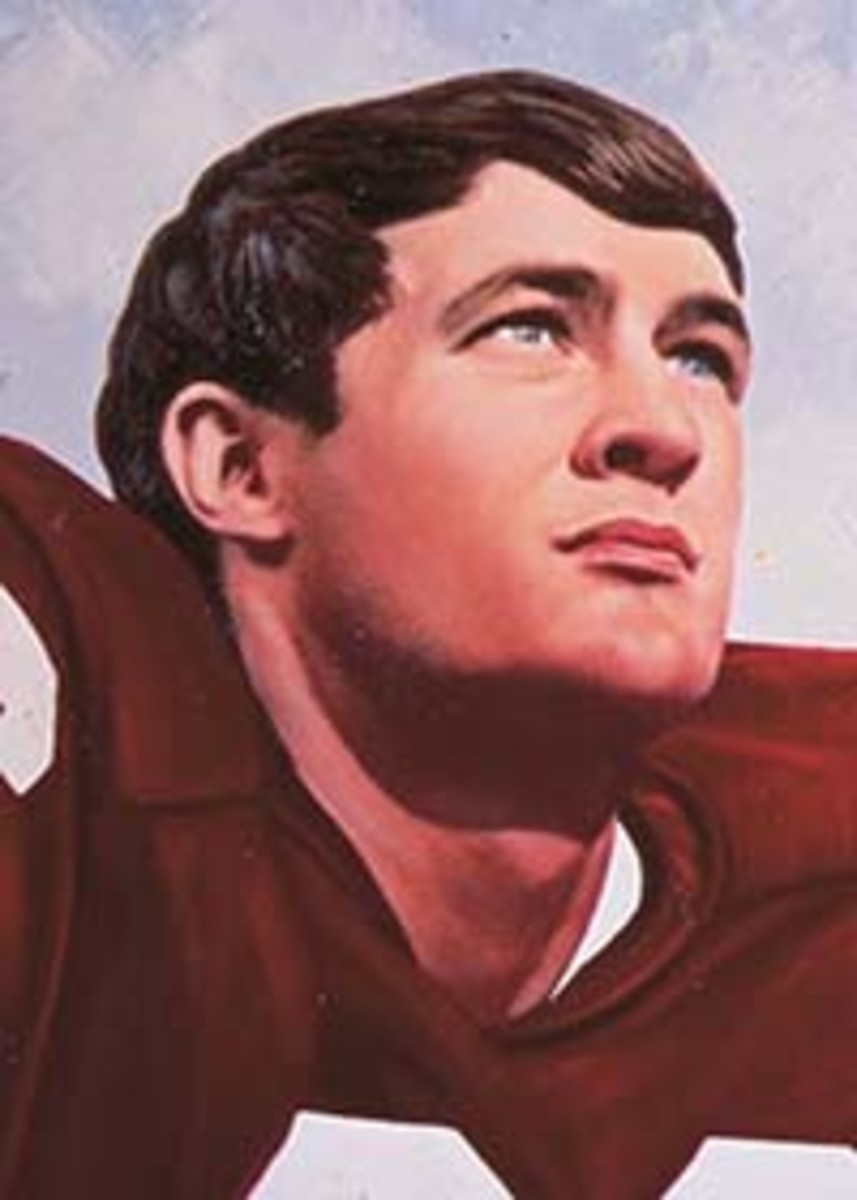 Steve Owens Heisman portrait