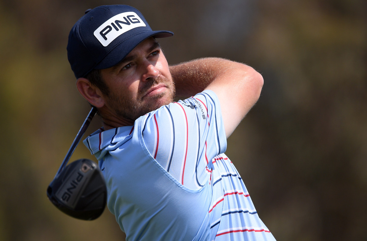 Louis Oosthuizen finished up his opening round on Friday morning and is tied with Russell Henley at 4-under-par 67 heading into Friday's s