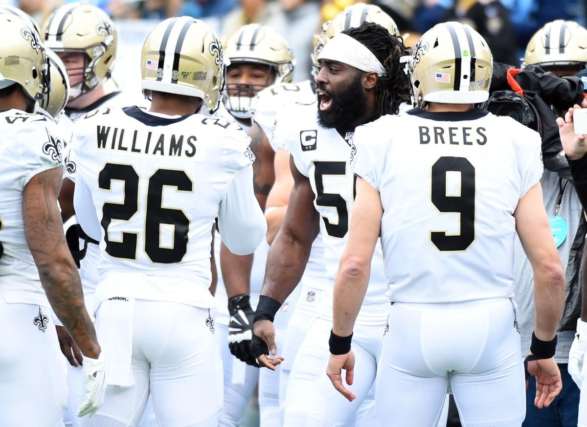 Saints All-Pro LB Demario Davis Leads the Charge