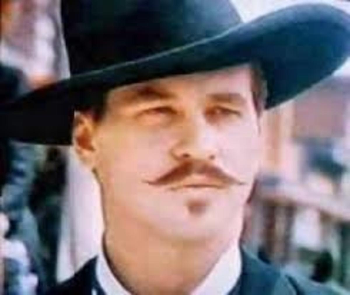 """Val Kilmer as Doc Holliday in the film """"Tombstone."""""""