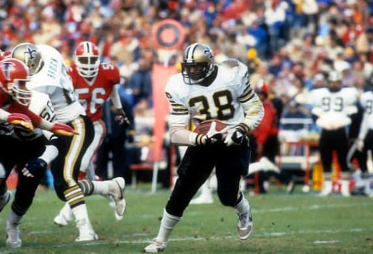 Former New Orleans Saints running back George Rogers. CREDIT: si.com/USA TODAY