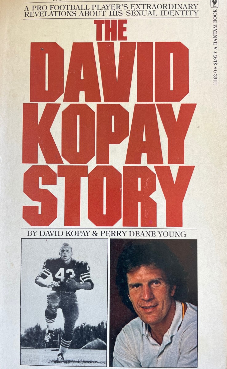 The Dave Kopay Story was a best-seller.