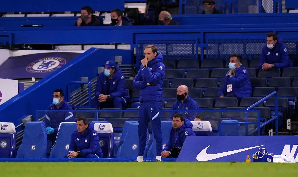 Thomas Tuchel is yet to experience Stamford Bridge at maximum capacity