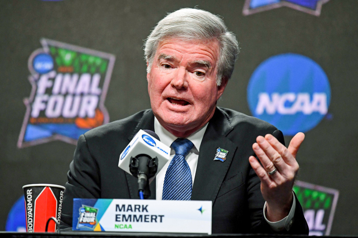 NCAA president Mark Emmert has been under fire from all directions lately.