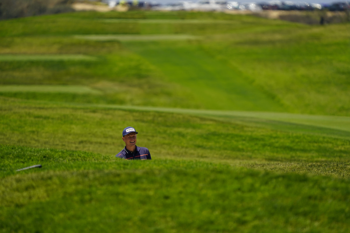 Adrian Meronk finds the rough during the U.S. Open at Torrey Pines' South Course, which proved to be a worthy championship host and produced its second thrilling finish in as many attempts.