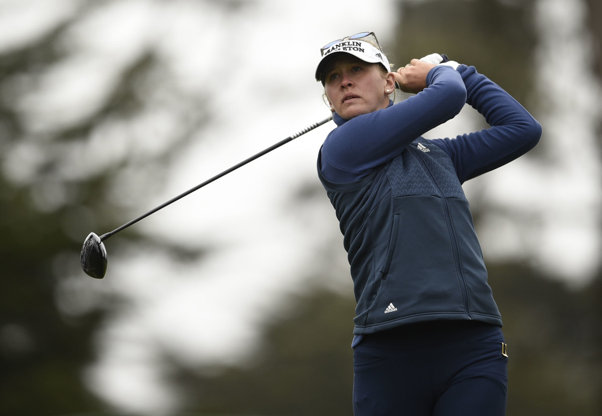 Jessica Korda, 28, is currently No. 13 in the Rolex Ranking, but has yet to win a women's major heading into this week's KPMG Women's PGA Championship.