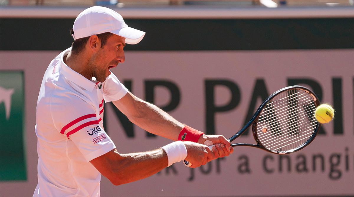Novak Djokovic is favored to win Wimbledon.