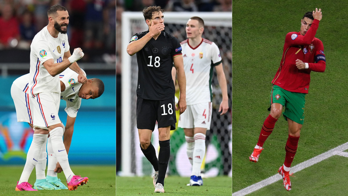France, Germany and Portugal go through from the Group of Death at the Euros