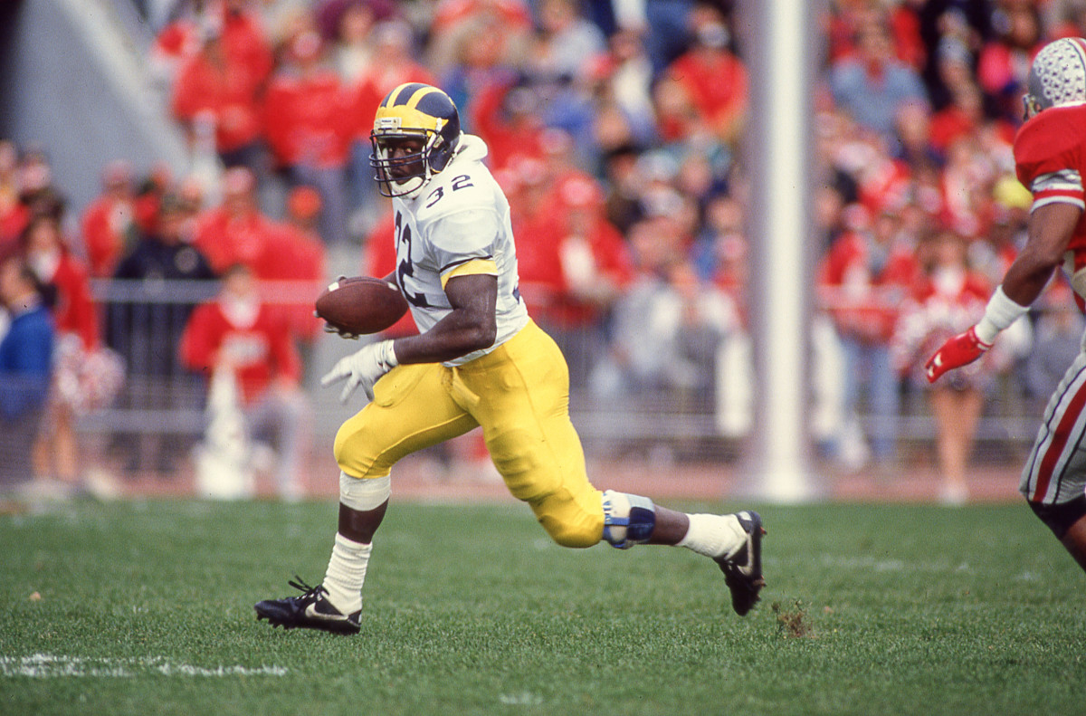 Schembechler wanted Bunch to play fullback; Bunch had other ideas.