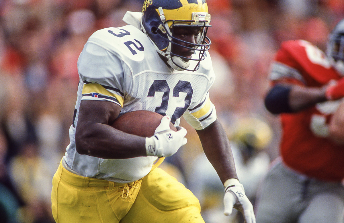 Bunch scored 12 TDs at Michigan, but his four Big Ten titles were the more telling stat.