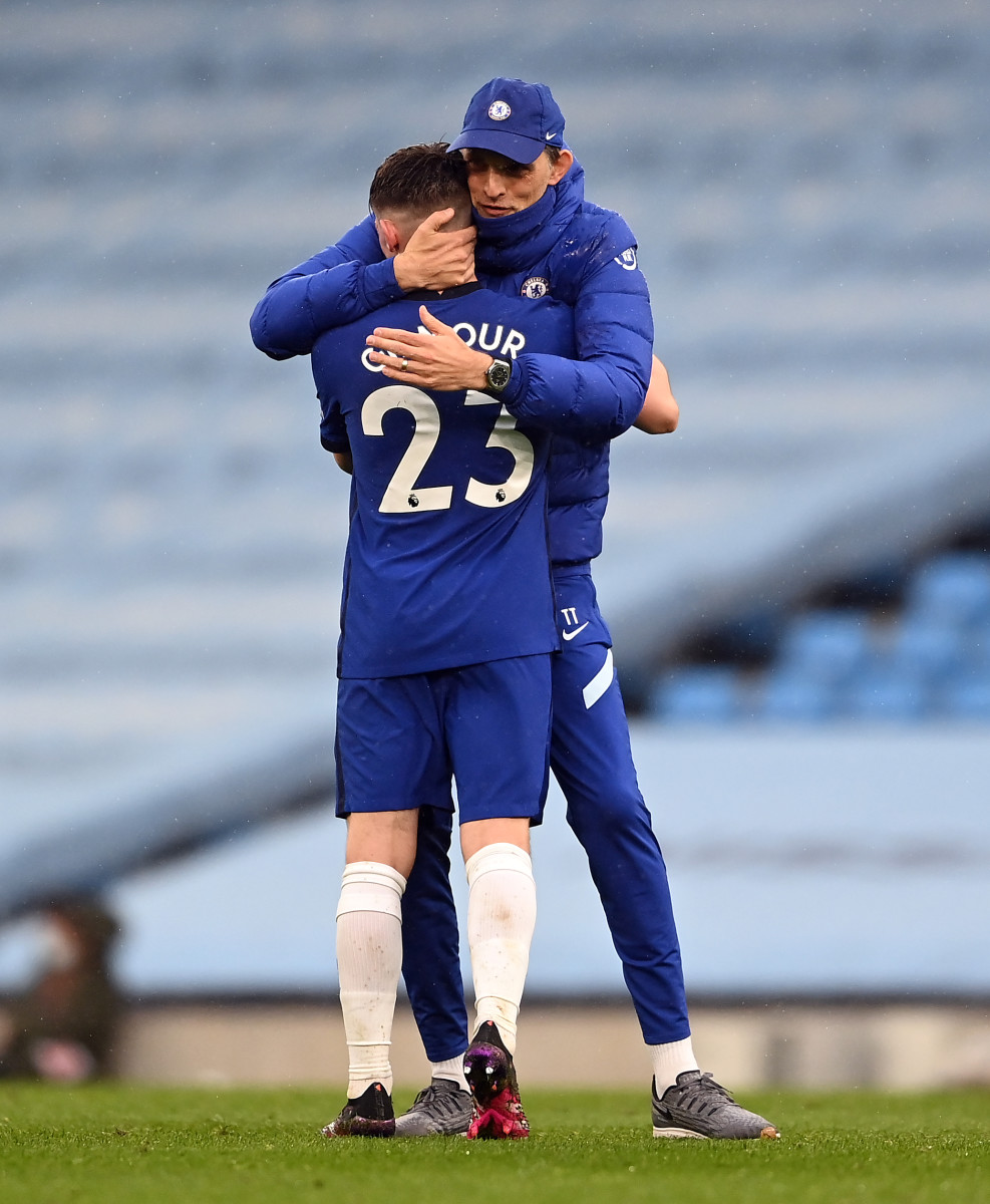 Despite lacking game time this season, Gilmour is 'confident' he made the right decision to stay at Chelsea in January