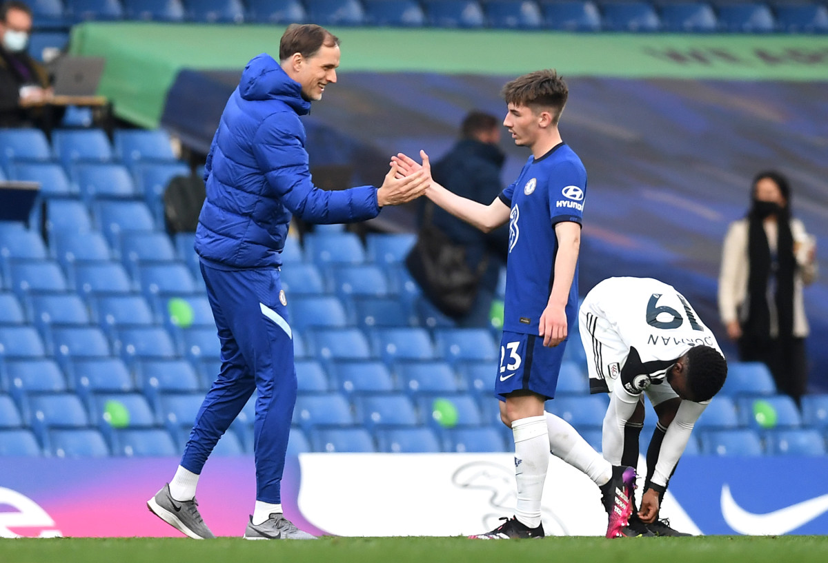 Thomas Tuchel sees Billy Gilmour as a long-term successor to Jorginho, but wants the youngster to have game time