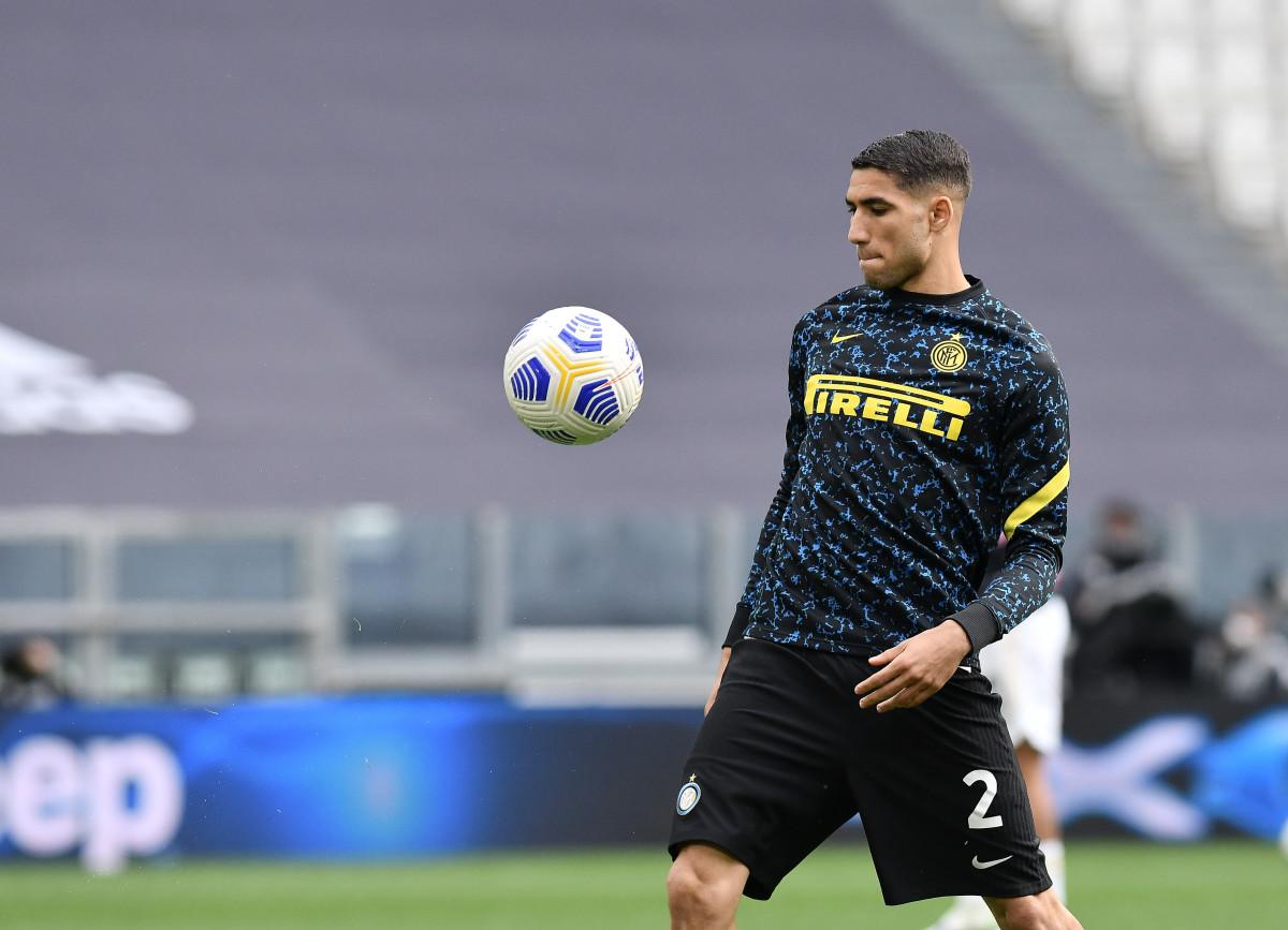 Achraf Hakimi is set to move to Paris Saint-Germain next week