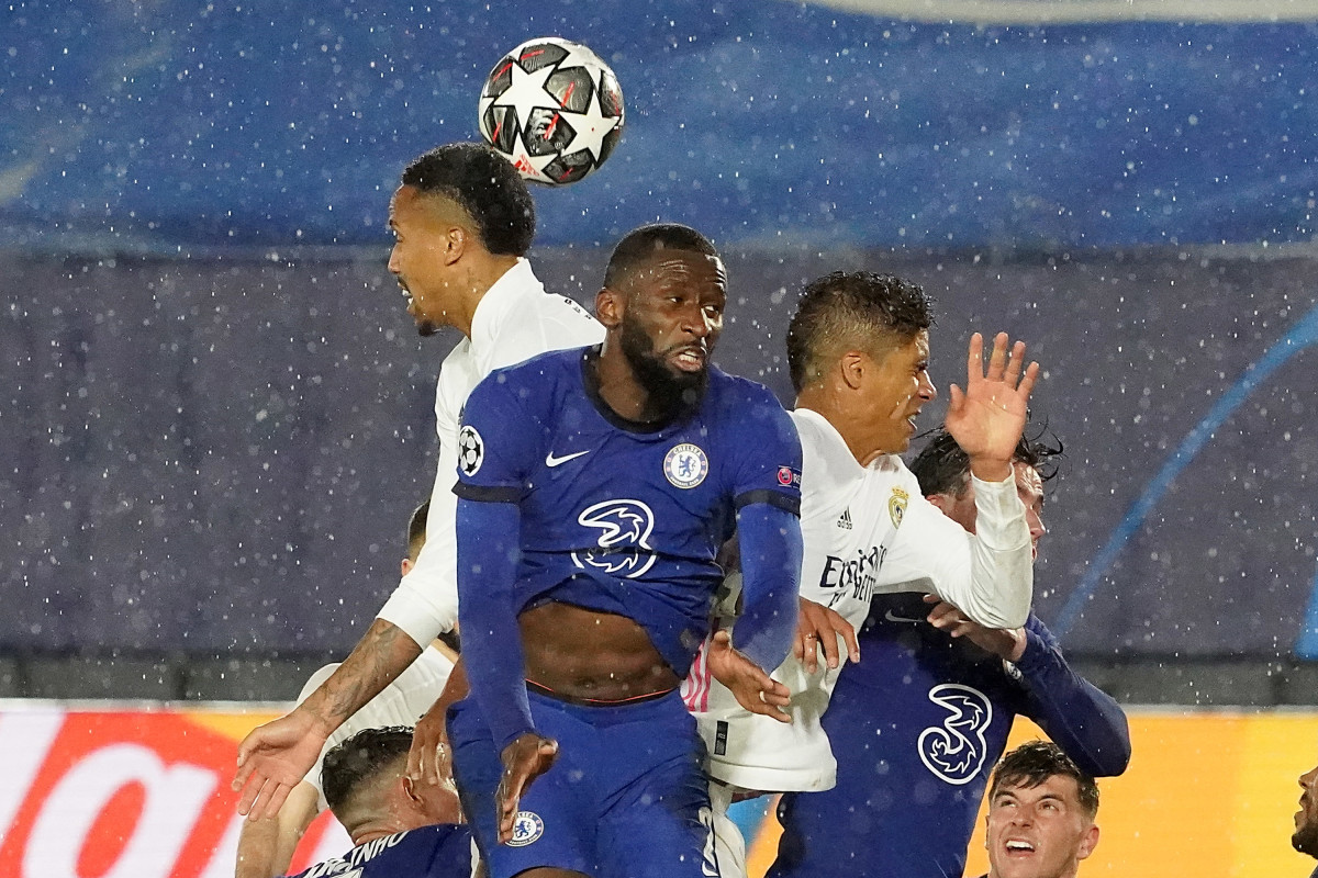 Rudiger has denied contract talks so far, with Chelsea eyeing up Varane as a possible replacement