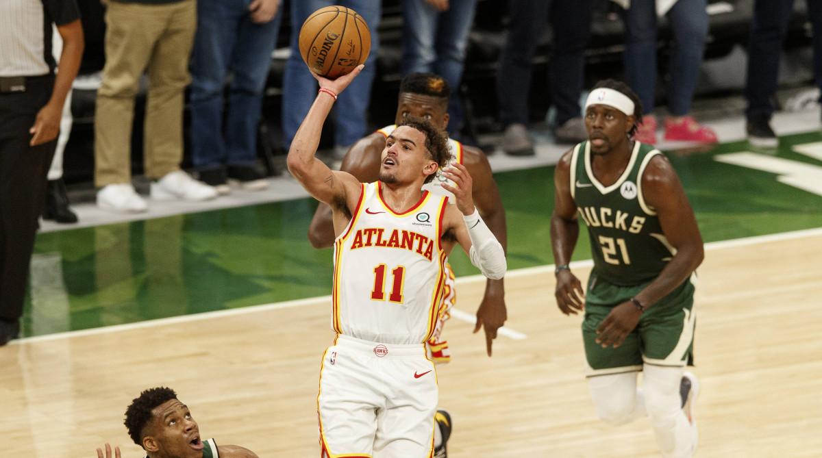 Atlanta Hawks guard Trae Young