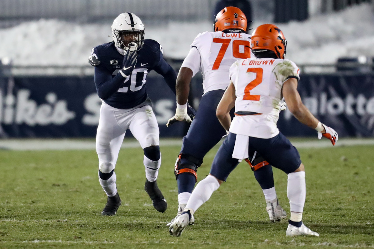 Adisa Isaac is the next man up for Penn State after the long line of successful defensive ends.