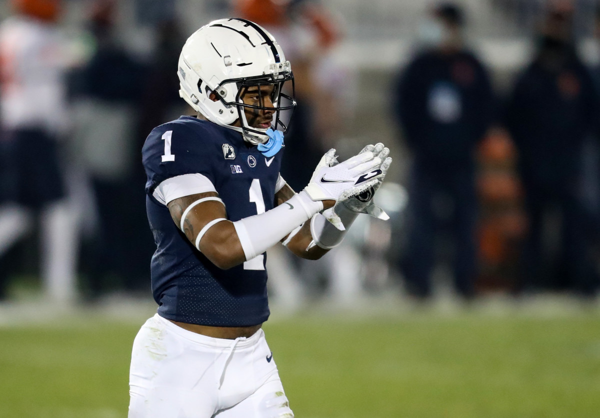 After transferring,Jaquan Brisker took on the challenge of playing at a big-time school and succeeded.