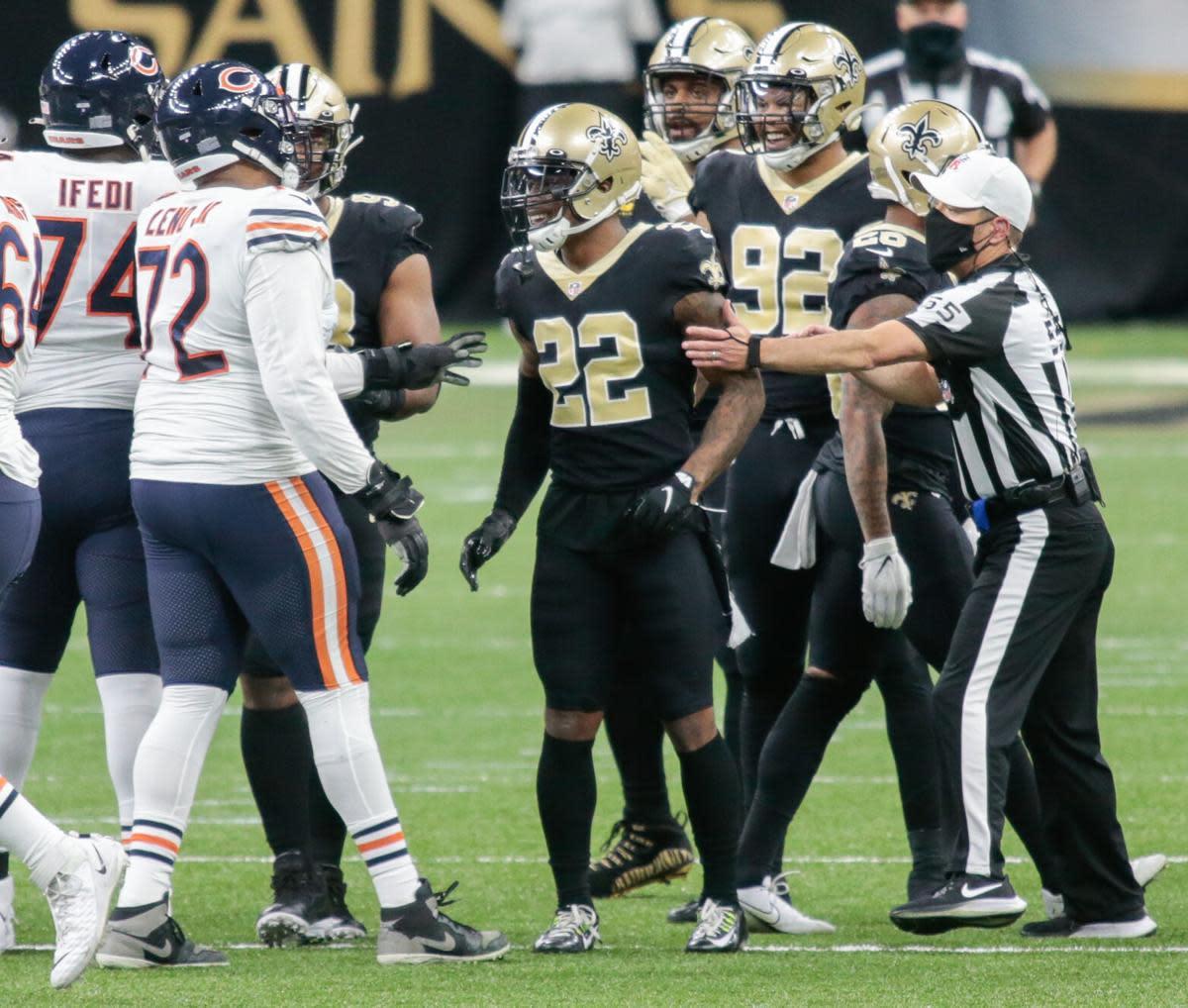 New Orleans Saints defensive back Chauncey Gardner-Johnson (22). Credit: Nola.com