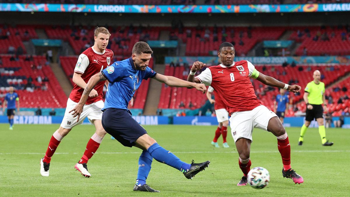 Italy survives vs Austria at Euro 2020