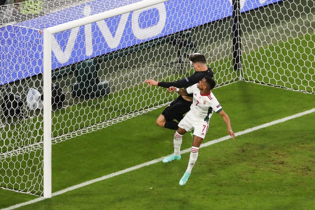 Kai Havertz scored an important goal against Hungary to see Germany progress