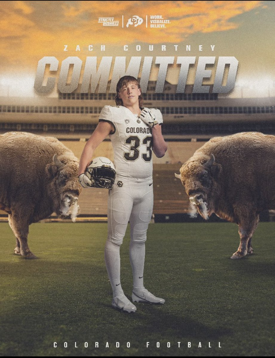 Zach Courtney's commitment expands Colorado's reach into the Lone Star State.