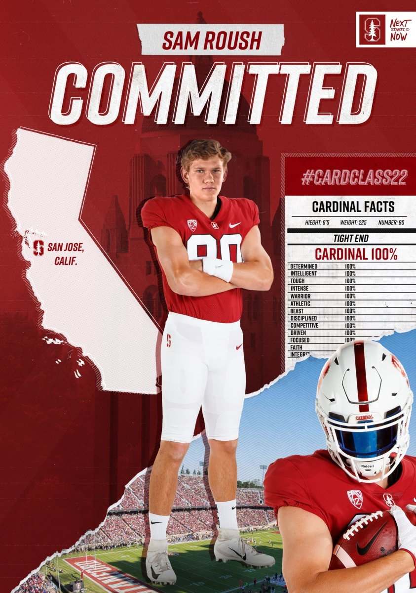 Sam Roush is the Cardinal's top commit in 2022.