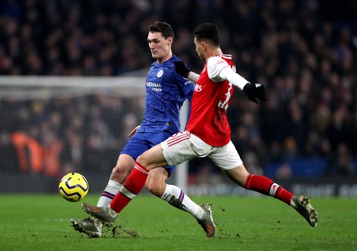Christensen came through the academy at right-back before settling at centre-half in Germany