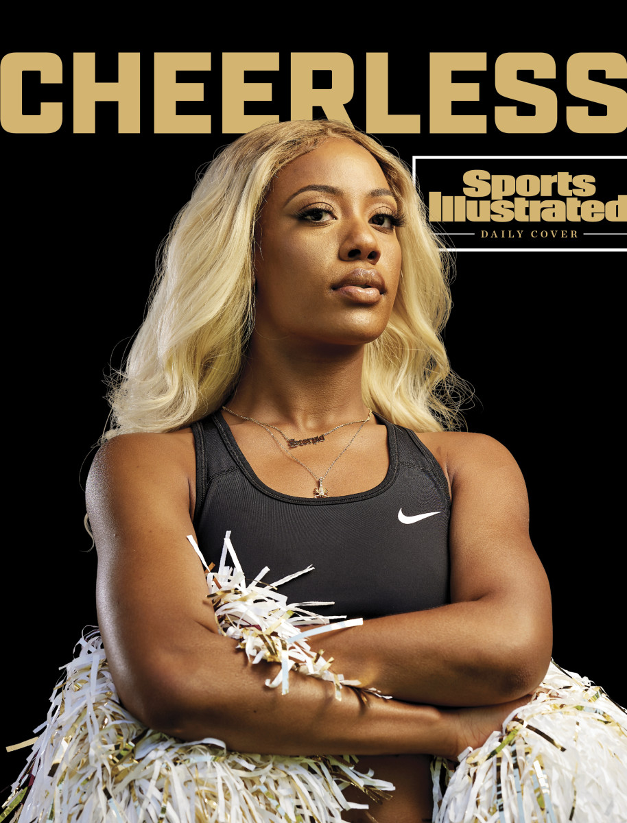 SI Daily Cover on the NFL's cheerleading problem