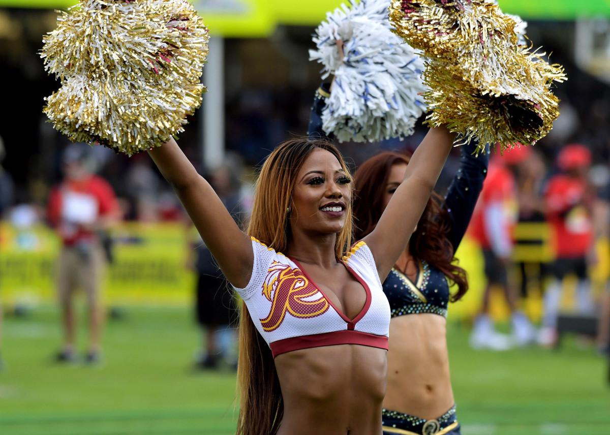 Washington cheerleader Candess Correll at the 2019 Pro Bowl