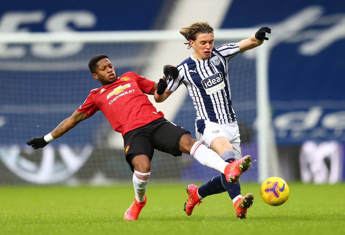 Conor Gallagher was impressive in midfield for West Brom this season