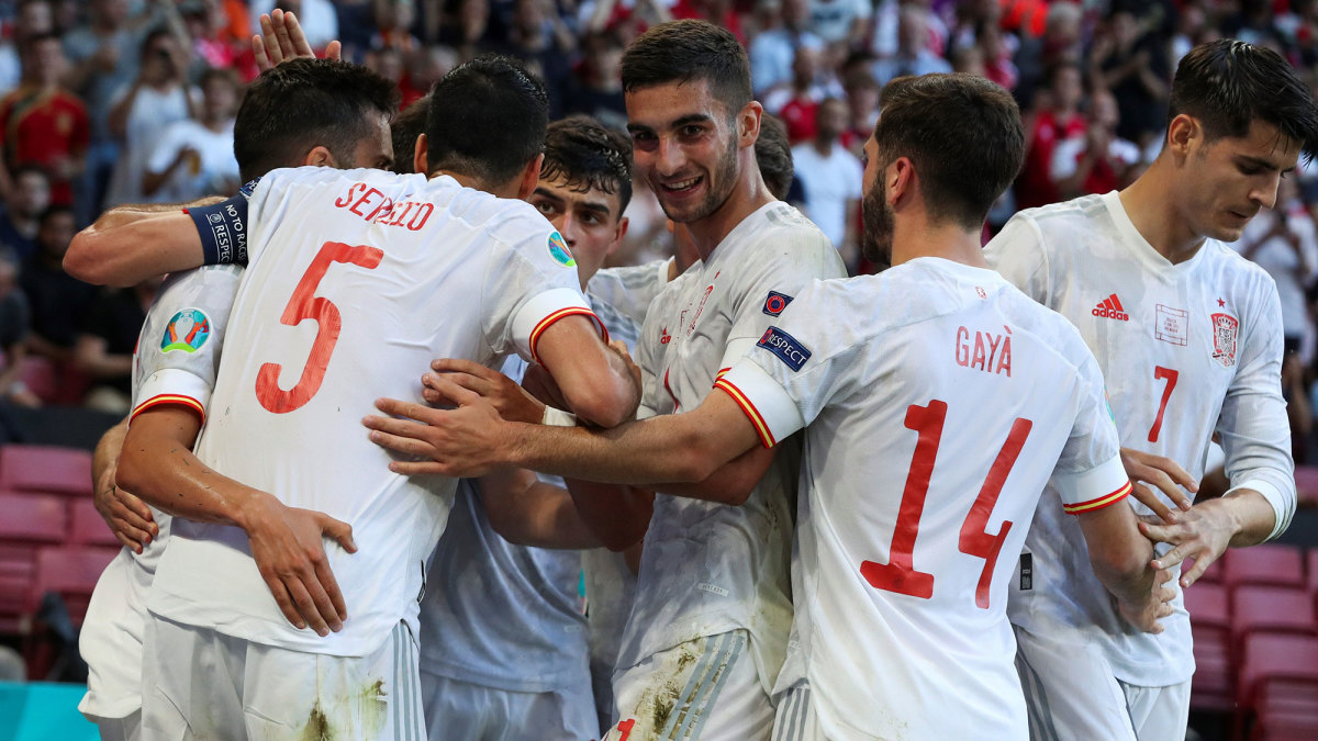 Spain beats Croatia in extra time at Euro 2020