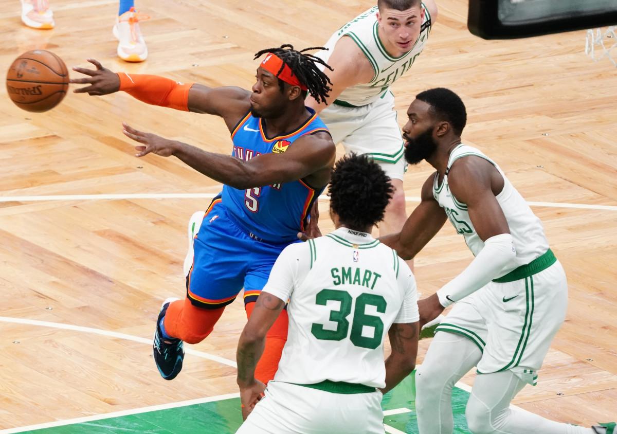 Lu Dort, Boston Celtics, Marcus Smart