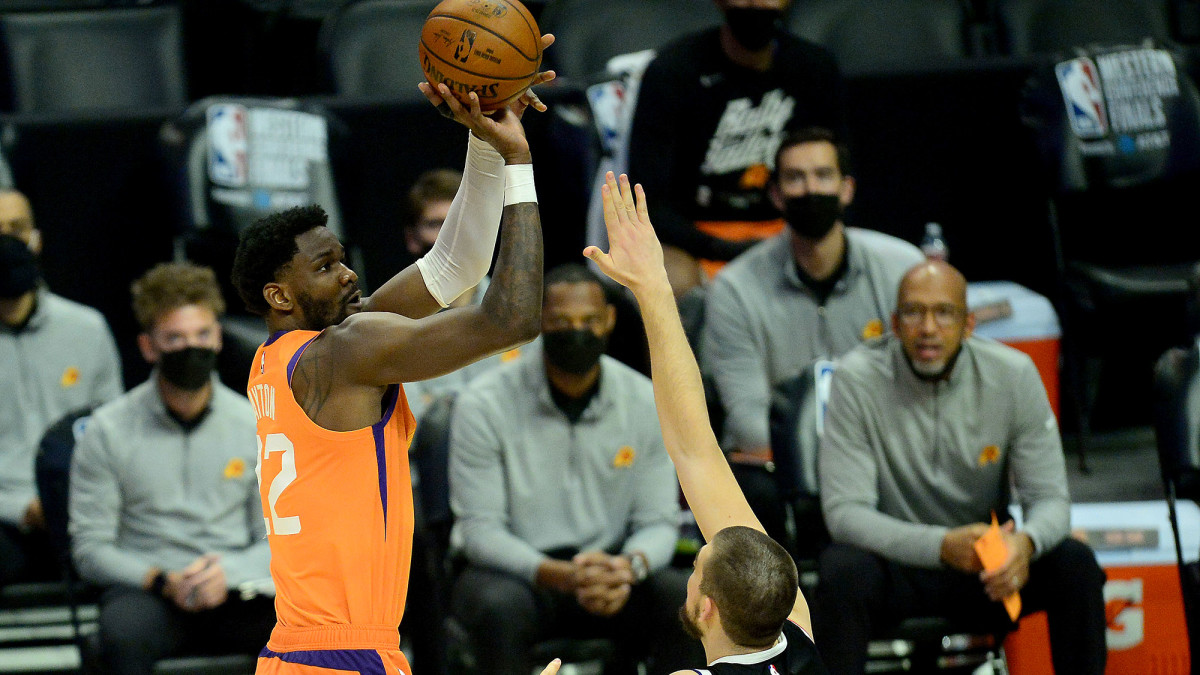 Developing a consistent jumper is one thing Ayton could do to improve.