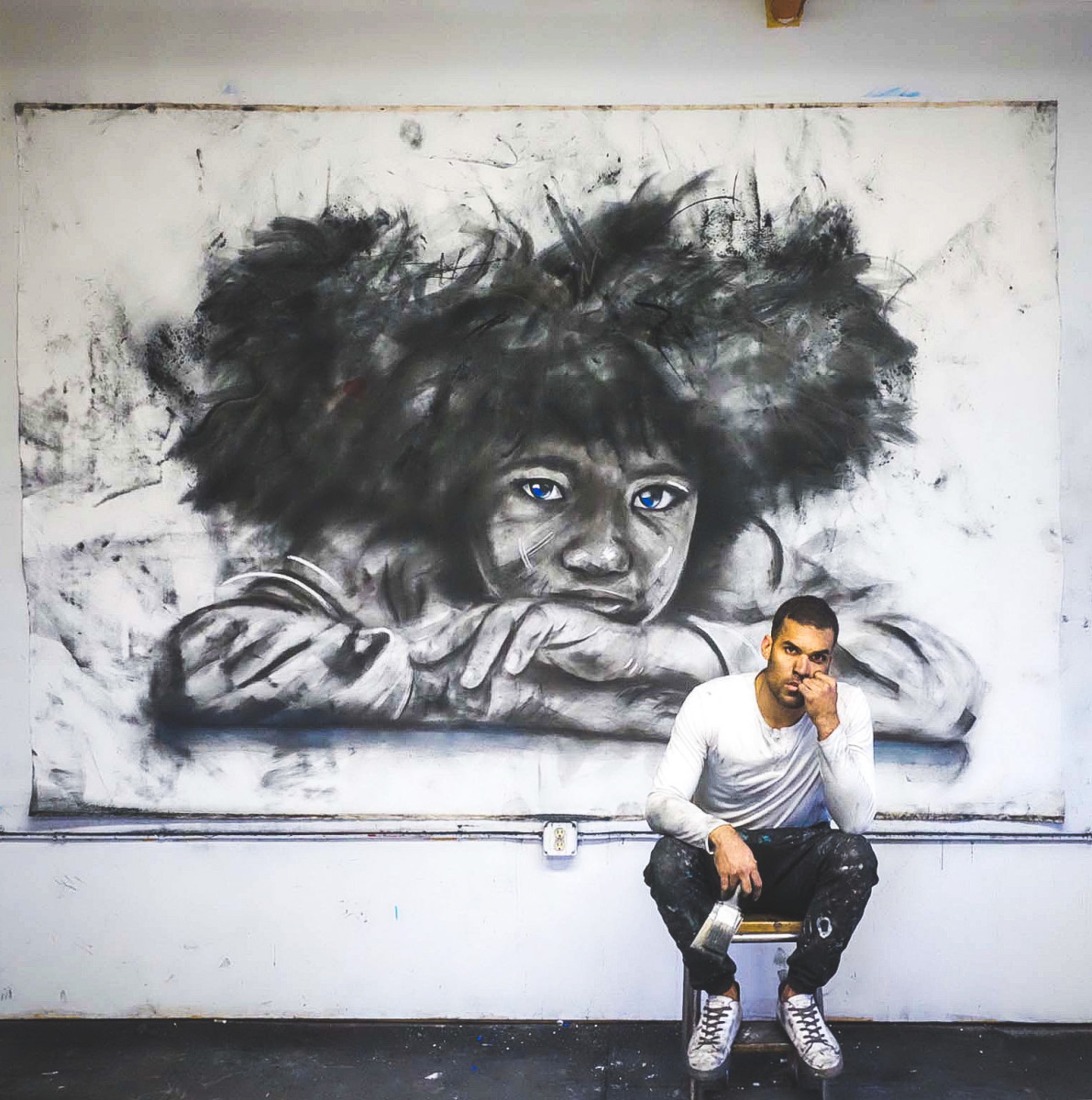 Micah Johnson wants Black children to see themselves in his art, and, through his characters, he hopes to inspire them todream without restraint.