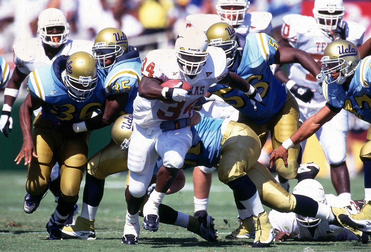 Trouble Bruin: Ricky ran for 160 yards and three TDs against UCLA.