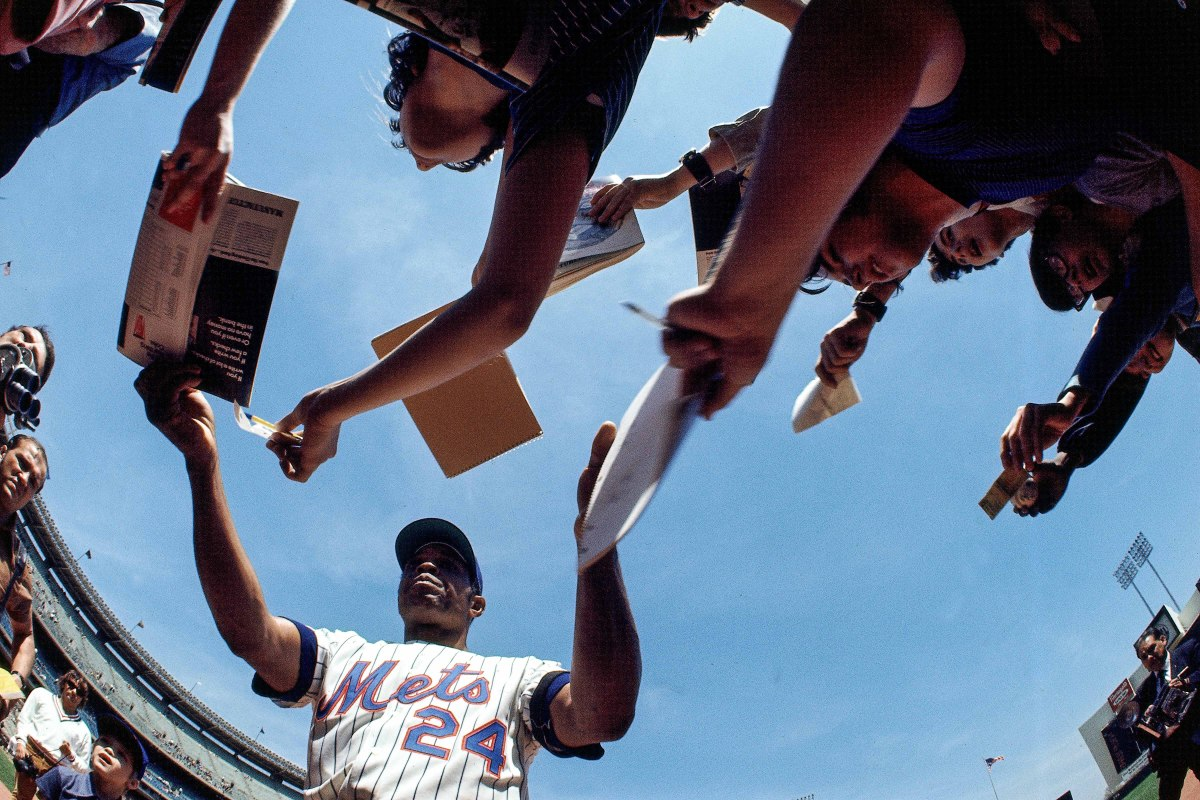 In 1972, Willie Mays was traded from the Giants to the Mets when he was 41 and a shell of the player he was in his prime.
