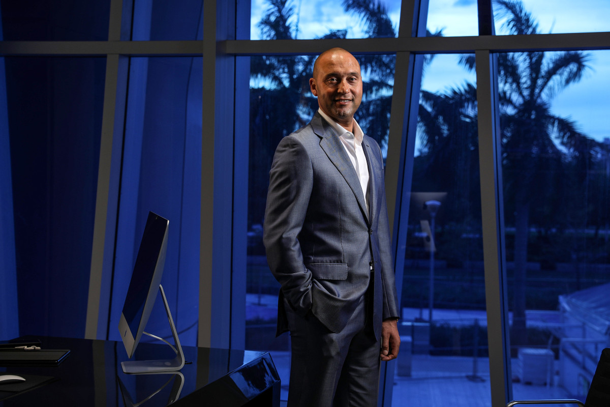 Derek Jeter is the chief executive officer and a part owner of the Miami Marlins