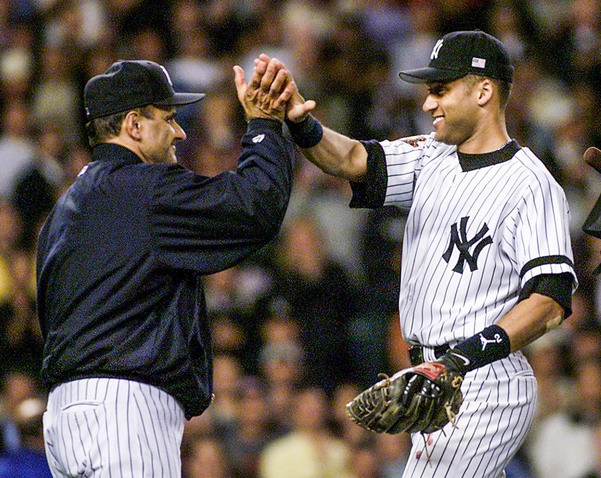 Derek Jeter and Joe Torre