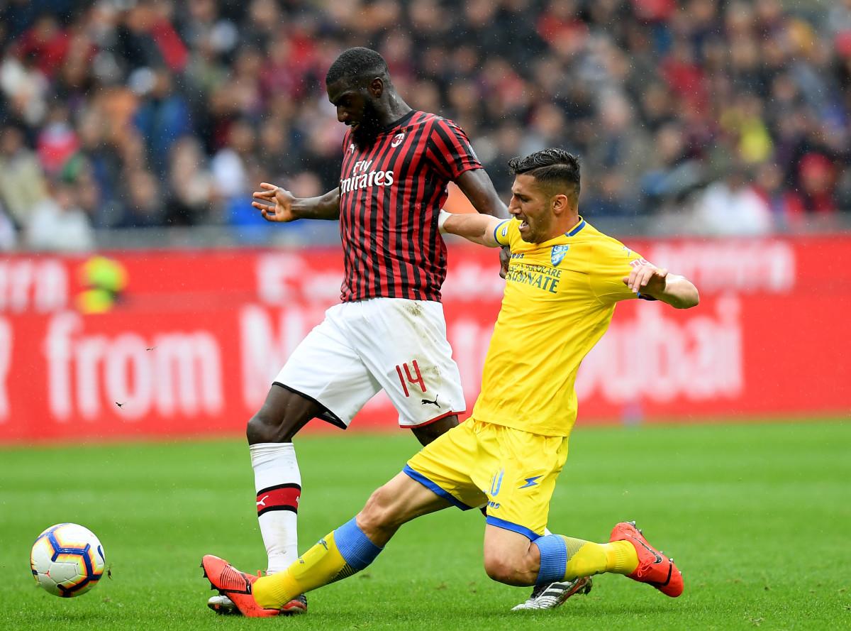 Bakayoko spent the 2018/19 season on loan at Milan