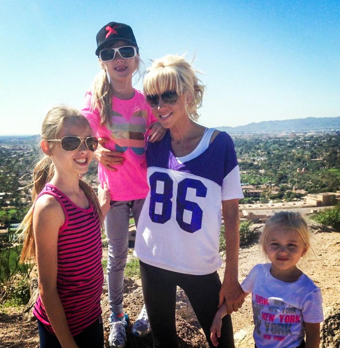 From left:Julia, Sierra, Katie and Michaela.
