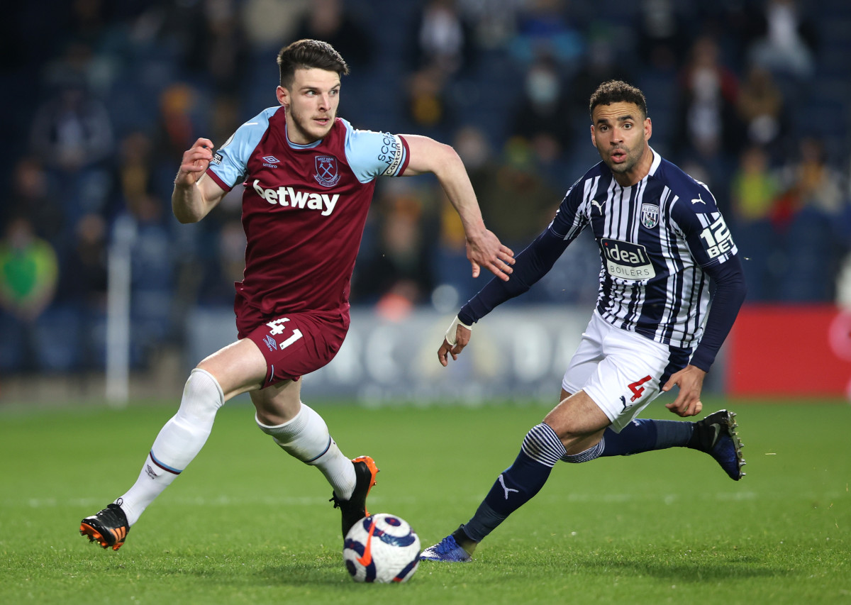 Declan Rice has taken his impressive Premier League form into this summers Euro 2020 for England
